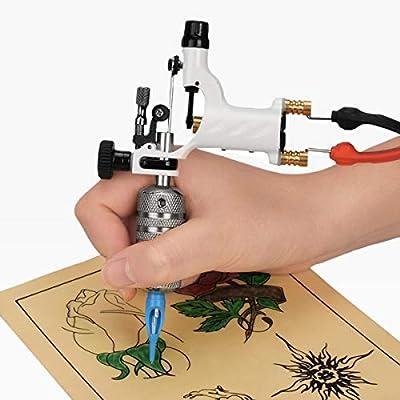SUPVOX Máquina de tatuaje Kit Pistola de tatuaje Apretones de ...