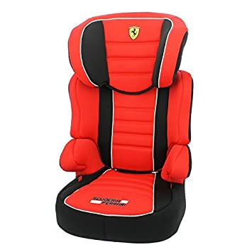 MyCarSit Ferrari High Back Booster Seat for Kids, 15 to 36