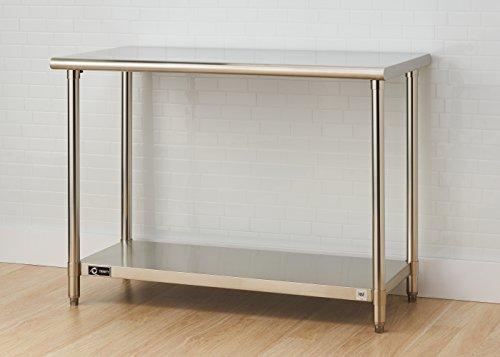 TRINITY EcoStorage NSF Stainless Steel Table, 48-Inch by Trinity (Image #4)