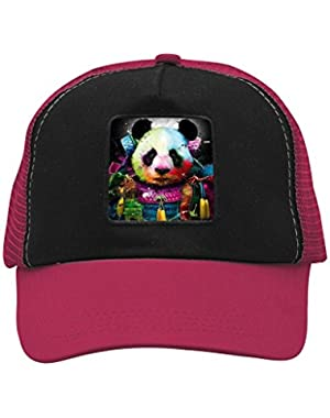 Unisex Warrior Panda Adjustable Classic Hiphop Hat Baseball Cap Snapback Dad Hat