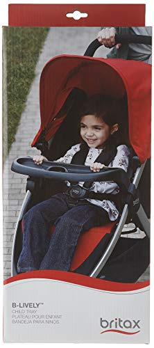Britax Child Tray for Single B-Lively Strollers, Black