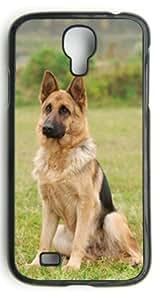 Custom GERMAN SHEPHERD DOG COVER CASE FOR Samsung S4 case wangjiang maoyi