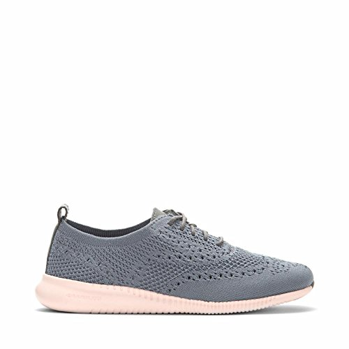 Cole Haan Women's 2 Zerogrand Oxford with Stitchlite 7 Ironstone Knit-Tropical Peach (Oxford Tropical)