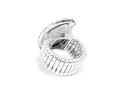 Occasions Gift Giving Marquise Crystal Rhinestone Stretch Cocktail Ring
