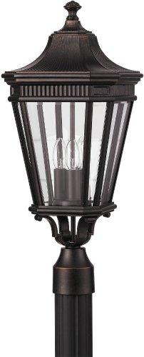 Feiss OL5407GBZ Cotswold Lane Outdoor Post Lighting, Bronze, 3-Light (10