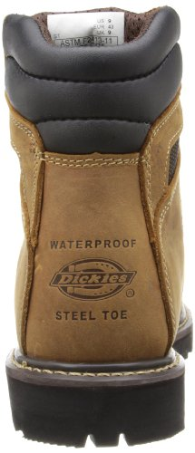 Dickies Mens Grinder Steel-toe Lavoro Boot Brown