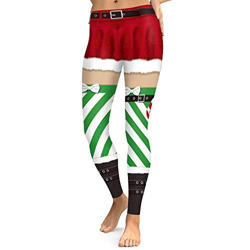 Sport Carta Collant Marea Stampa Po Grande Elastico Stretti Digitale Natale Nove s Ints 2018 Pantaloni Autunno Spfazj B Codice Casual inverno Leggings CgPqx68w