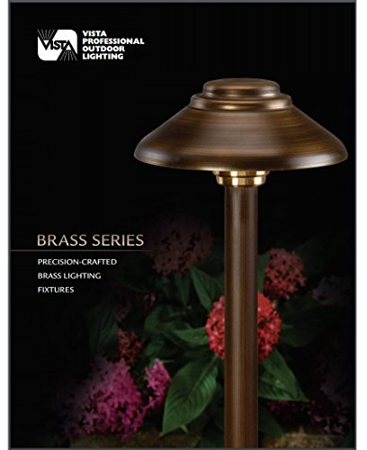 Stem Mount Path Light (Vista LED Ground Mount Olde Brass Finish Low Voltage Path Light 2128 2.5 Watt, Warm Light)