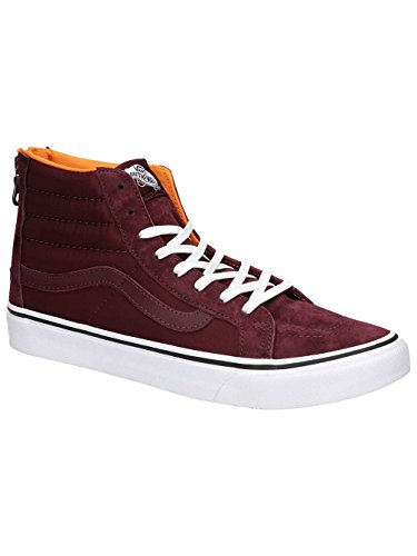 Vans SK8-Hi Slim Zip Boom Boom Port Royal Red