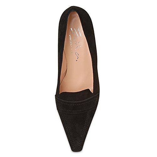 Femme Evita Bout Evita Noir Shoes Pump Fermé Shoes Escarpins x0q5RwZvR