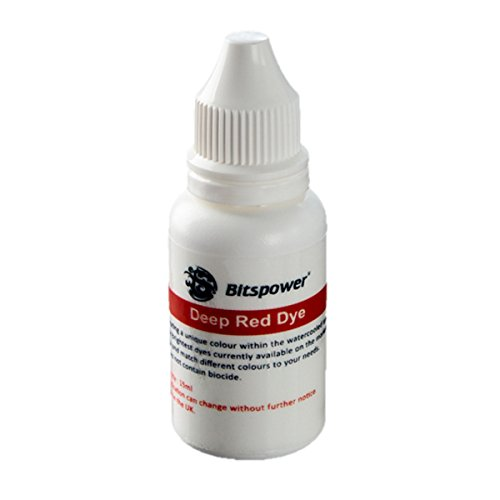 Bitspower Coolant Dye, 15ml, Deep Red
