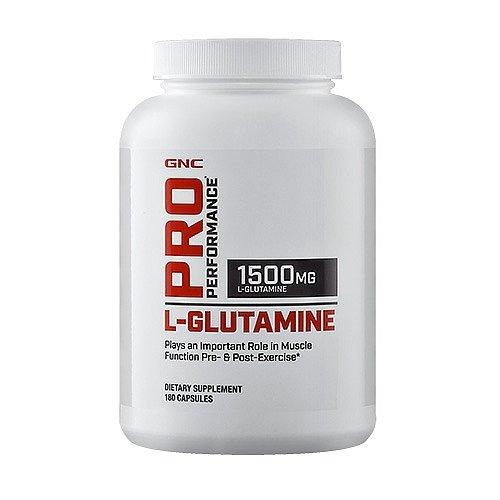 GNC Pro Performance L-Glutamine 180 Capsules
