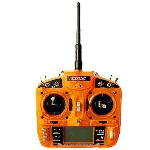 Full Range 2.4GHz 6 CH Remote Control Transmitter+AR6200 Satellite Receiver