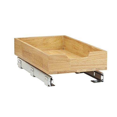 Household Essentials 4221-1 Glidez Bamboo 1-Tier Sliding Cabinet Organizer, 11.5