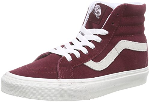 Vans vintage Baskets Sk8 Win Adulte Mixte Basses Vintage hi U Reissue Rouge RZRrw7B