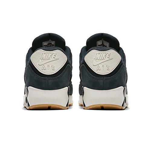 NIKE Herren Air Max 90 Premium Sneakers 700155 Armory Navy / Armoury Navy