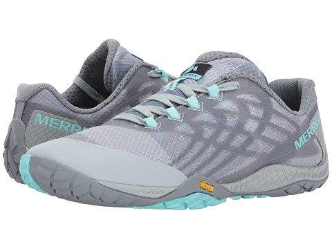 値する検索エンジン最適化みがきます(メレル) MERRELL レディースウォーキングシューズ?スニーカー?靴 Trail Glove 4 [並行輸入品]