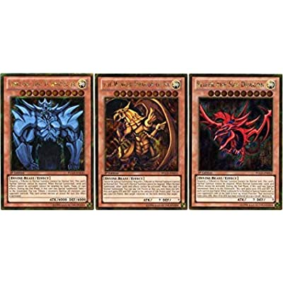 Yu-Gi-Oh GOD Cards Guaranteed 75 Card LOT with Rares!: Toys & Games