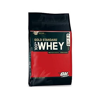 100% Whey Gold Standard - 4.5Kg - Sabor Fresa