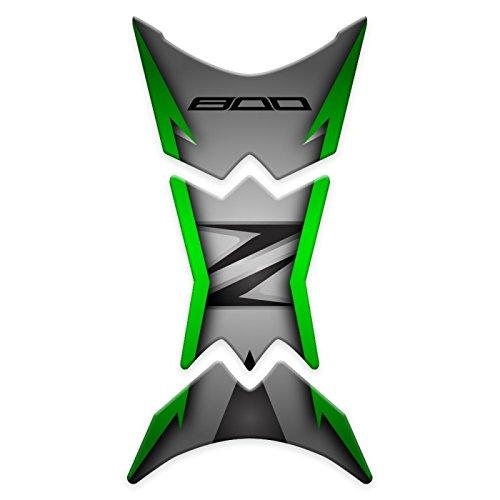 TANK Pad paraserbatoio r/ésine 3d pour moto Kawasaki Z800/gp-158 Dark Green