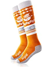 Unigear Ski Socks for Kids, Soft and Breathable for Snowboarding, Cold Weather, Outdoor Winter Sports for Boys and Girls