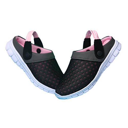 Men Summer Slippers Slip Shoes ONS Unisex Slip Pink Mesh Breathable Net Women Sports Anti Casual Outdoor Flats Sandals Meijunter 5nBwg0qg