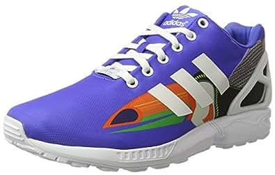 adidas Originals ZX Flux Womens Trainers/Shoes - Blue-5.5
