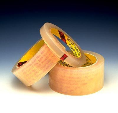 3M R) Prescription Label Tape 800 Clear, 1 in x 72 yd, 12...