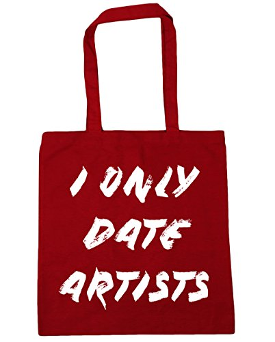 42cm Red Bag Date Only Classic HippoWarehouse I 10 litres Tote Shopping Gym Artists Beach x38cm fHUz6qUw