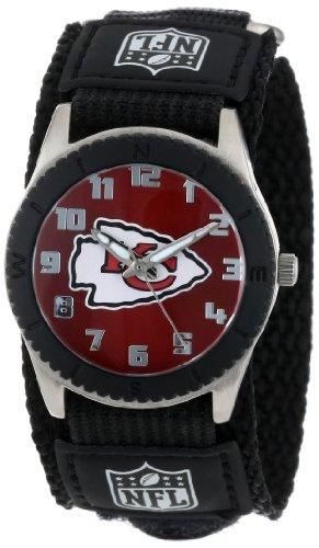 "Game Time Unisex NFL-ROB-KC""Rookie Black"" Watch - Kansas City Chiefs"