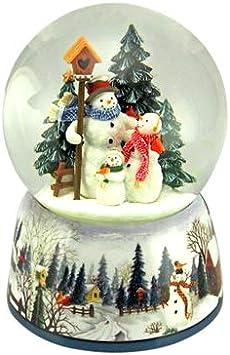 Bola de nieve musical de Navidad / globo de nieve navideño / caja ...