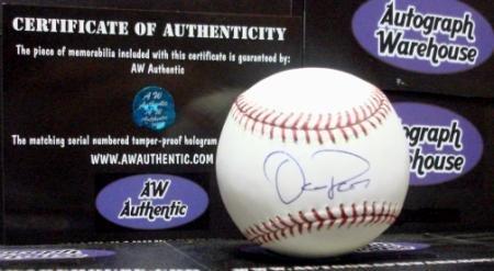 Signed Oliver Perez Ball - Autographed Baseballs