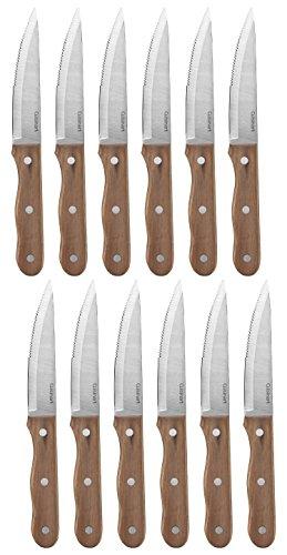 Cuisinart Advantage 6-Piece Triple Rivet Walnut Steak Knife