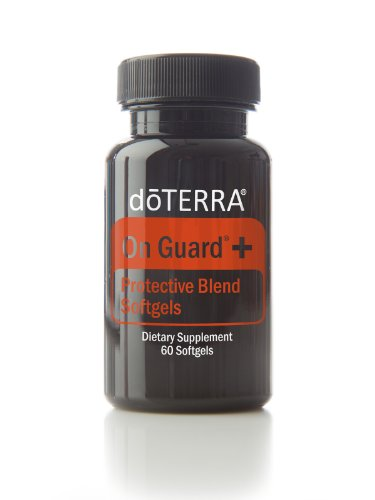 doTERRA On Guard Essential Oil Protective Blend Softgels 60 (Guard 60 Capsules)