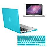 20 X Rubberized Hard Plastic Case Cover Shell Keyboard Skin Screen Protector for MacBook Pro 13'' inch A1278 Non-Retina
