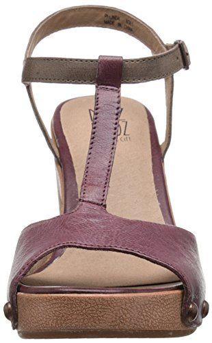 Miz Mooz Women's Rhonda Heeled Sandal Plum t9i7GLs1G