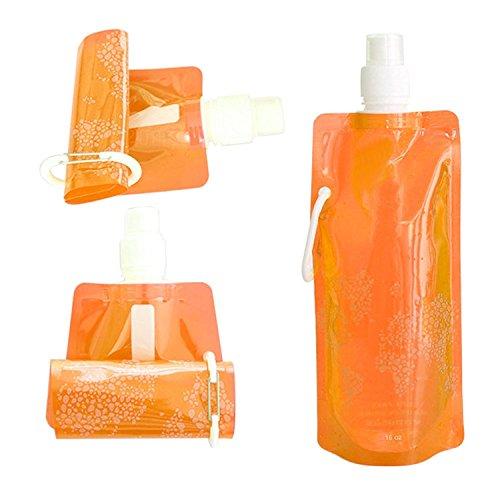 Wonder Bottle L'Originale Bouteille Pliable Sport Capacité 500 ml