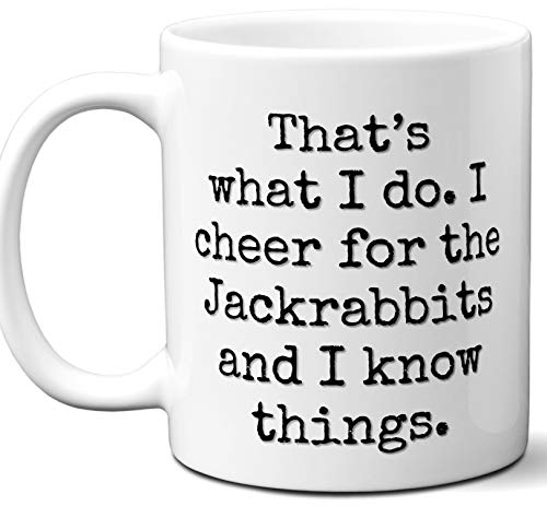Jackrabbits Gifts For Men Women. Cool Unique Funny Gift Idea Jackrabbits Coffee Mug For Fans Sports Lovers. Football Hockey Birthday Father's Day Christmas.