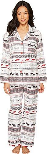 Classic Womens Pajama Set (BedHead Women's Long Sleeve Classic Pajama Set American Fair Isle Small)