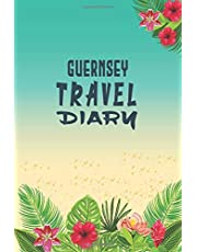 Guernsey Travel Diary Adventures Notebook: Traveler Log book/ Diary Log Journal, 120 Pages, 6x9, Soft Cover, Matte Finish