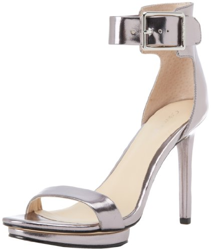 calvin klein vivian platform sandal black