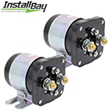 Install Bay 2-Pcs Power Relay Battery Isolator 500 Amp High Current 12V Metra