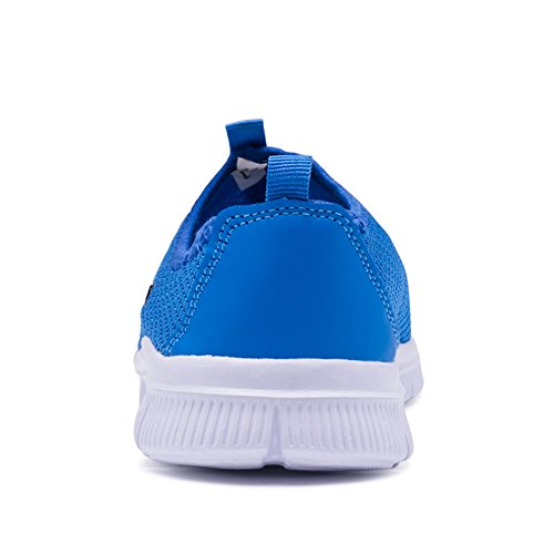 001 Sneakers Sports Running 33 para 45 Running Neutral Transpirables Casual Deporte Zapatos Blue Zapatillas AKXY KJJDE HXqw17