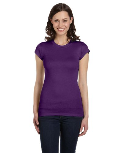 Bella Canvas - Camiseta - Mujer Morado Team Purple XL