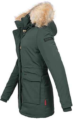 Vert Chaude Avec Pour B612 Navahoo Femme D'hiver Parka Doublée Capuche wBzxq8OW1
