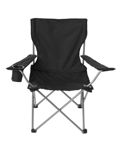 Overstock All Star Camping Chair Black