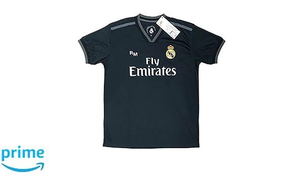 Real Madrid FC Camiseta Adulto Replica Oficial Segunda Equipación 2018/2019 (M): Amazon.es: Deportes y aire libre