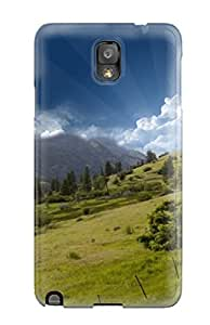 ZippyDoritEduard Snap On Hard Case Cover Hill Top Mountain Sky Protector For Galaxy Note 3