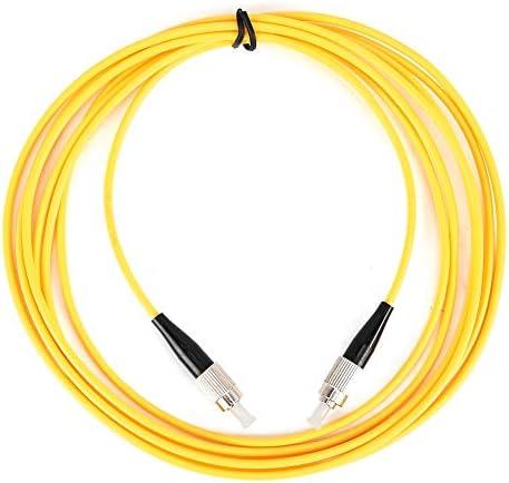 984ft PVCkabel optische vezeljumper Connector enkel model met laag verlies tijdens het inbrengen