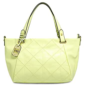 Dilaks 260774 Tote Bag for Women - Synthetic, Green